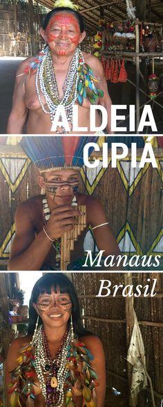 Minha visita a Aldeia Cipiá, uma tribo indígena localizada a 80Km de Maaus.