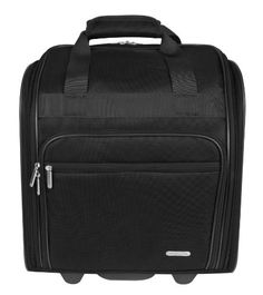 Travelon Wheeled Underseat 15 Inch Black One Size >>> Details can be found by clicking on the image.