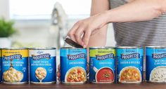 Before & After: Hornall Anderson Rebrands Progresso Soups — The Dieline - Branding & Packaging Design