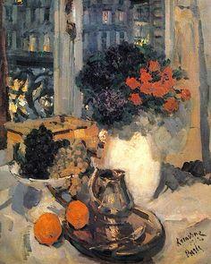 Still life, 1912 - Konstantin Korovin