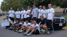 The Burnsville High School boys soccer program's fundraiser with Dodge of Burnsville on Aug. 18 raised $4,040. Dodge contributed $20 to the program for each participant who test drove a new Dodge.