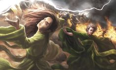 Bera Harkin and Kiruna Nachiman by Jieroque on deviantART