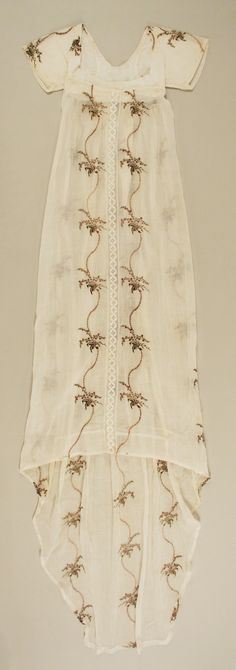 Evening dress | probably British | The Metropolitan Museum of Art