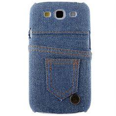 Jeans Back (Vaaleansininen) Samsung Galaxy S3 Suojakuori - http://lux-case.fi/jeans-back-vaaleansininen-samsung-galaxy-s3-suojakuori.html