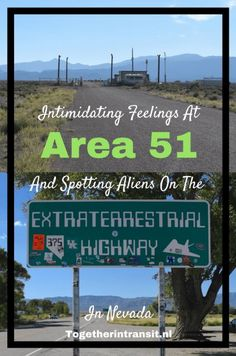 Intimidating Area 51 and Spotting Aliens on the Extraterrest.- Intimidating Area 51 and Spotting Aliens on the Extraterrestrial Highway – Intimidating Area 51 and Spotting Aliens on the Extraterrestrial Highway, Nevada - Alien Photos, Leaving Las Vegas, Travel Usa, Travel Tips, Travel Ideas, Travel Destinations, Canada Travel, Us Road Trip, Helicopter Tour