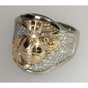Exceptional Marine Corps Rings designed and handcrafted by our Marine Corps Veteran custom jewelry business. Made in USA - Buy Direct from our USMC Veteran owned business, USMC Rings and Marine Corps Jewelry Emerald Jewelry, Silver Jewelry, Jewlery, Jewelry Armoire, Gold Jewellery, Marine Corps Rings, Titanium Rings, Ring Verlobung, Diamond Design