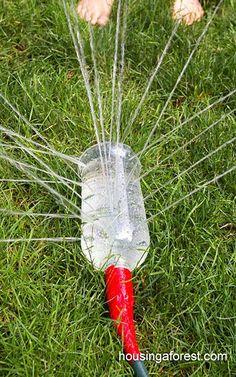 Mit Wasser spielen ist für Kinder fantastisch, 8 herrliche kühle Ideen! - DIY Bastelideen