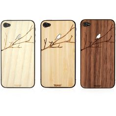 Toast Wooden Bird iPhone Veneer ($19) ❤ liked on Polyvore featuring accessories, tech accessories, phone cases, phones, iphone, fillers, cases, tech and mobile