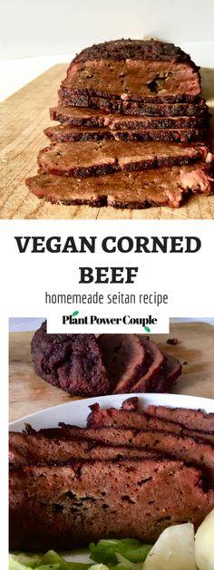Slow-Cooker Vegan Corned Beef