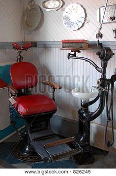 Antique Dental Chair