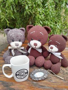 Návod na medvedíka Colorka nájde zdarma na raverly - pattern for free