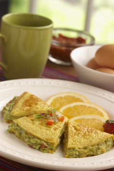 Omelet Quesadilla with Wholly Guacamole. Who said breakfast couldn't be delicious and nutritious!