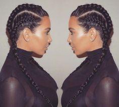 Kim Kardashian y Chiara Ferragni ya se han atrevido con el peinado de la temporada: las trenzas de boxeador. Descubre cómo llevarlas en tu día a día.