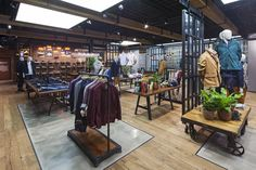 Timberland flagship store by Dalziel+Pow, London UK store design fashion