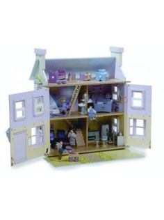 Includes Mayberry Manor Dolls House, Dolls House Family and the Starter Furniture Set.