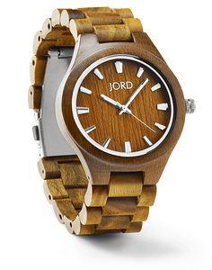 Beautiful wooden watches in lots of styles and colors.