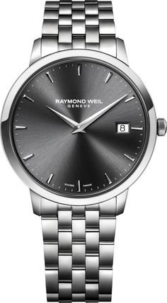 Raymond Weil Watch Toccata #bezel-fixed #bracelet-strap-steel #brand-raymond-weil #case-depth-7-82mm #case-material-steel #case-width-42mm #date-yes #delivery-timescale-4-7-days #dial-colour-grey #gender-mens #luxury #movement-quartz-battery #official-stockist-for-raymond-weil-watches #packaging-raymond-weil-watch-packaging #style-dress #subcat-toccata #supplier-model-no-5588-st-60001 #warranty-raymond-weil-official-2-year-guarantee #water-resistant-50m