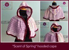 crochet hooded cape