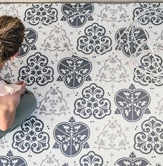 AKDO Collections Heritage porcelain tile - Highland pattern