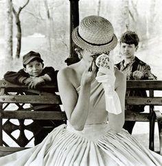 Makeup, Central Park, 1955.