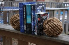 Nautical Bookends Rope Bookends Nautical Gift Monkey