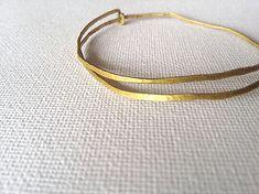 Simple bangle(平打ち) |.Labo|Creema