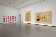 """Installation view of""""Alibis: Sigmar Polke 1963–2010,"""" The Museum of Modern Art,April 19–August 3, 2014."""