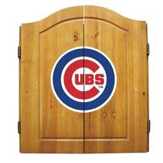 Chicago Cubs Dart Cabinet