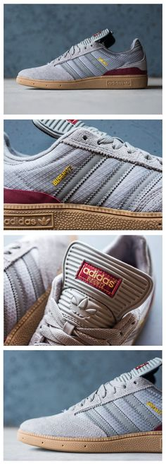 Trendy Sneakers  2017/ 2018 : adidas Skateboarding Busenitz: Grey Suede/Gum