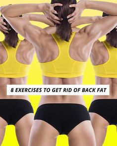 8 Exercises to Get Rid of Back Fat