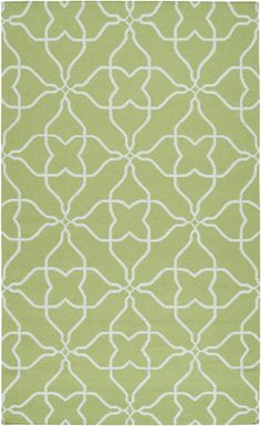 Add a splash of color with this rug in Lime Green. Frontier Collection by Surya (FT-234)