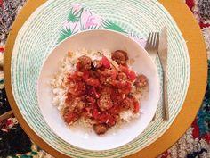 Trop contente de ma rougail saucisse ! #rougail #plat #cook  #dinner #recette de audreyravelo