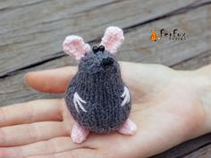 Miniature mouse figurine Stuffed mouse Animal lover gift Plush mouse toy Tiny mouse lover gift Collectible miniature animals Stuffed animals by FerFoxDesign on Etsy https://www.etsy.com/listing/216519474/miniature-mouse-figurine-stuffed-mouse