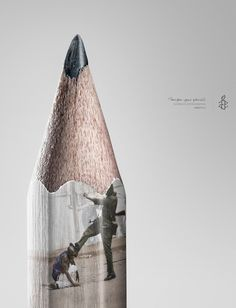Amnesty International: Pencil, 2
