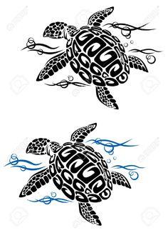 12465395-Turtle-in-acqua-di-mare-in-stile-cartoon-per-il-design-del-tatuaggio-o-l-ambiente-Archivio-Fotografico.jpg (940×1300)