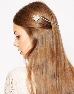 ASOS+Double+Flower+Girlhood+Back+Hair+Chain
