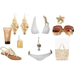 Beach Goddess, created by kaymeans06 on Polyvore