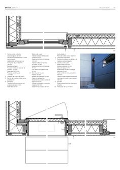 fachada madera detalle constructivo - Buscar con Google Construction Drawings, Detailed Drawings, Technical Drawing, Architecture Details, Floor Plans, How To Plan, Design, Concept, Google