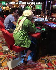 Tsunade surprise au casino ! - Be-troll - vidéos humour, actualité insolite