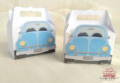 Caixa Sacola Fusca Azul no Elo7   Adoro Arte Atelie (D5C6E0) Toys, Tote Bags, Box, Art, Atelier, Activity Toys, Clearance Toys, Gaming, Games