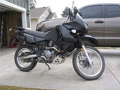 2009 KLR-650 - Paint Job - from Blue to Satin Black - Kawasaki KLR 650 Forum