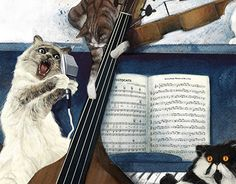 """Check out new work on my @Behance portfolio: """"The Aristocats"""" http://be.net/gallery/51319323/The-Aristocats"""