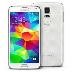 cool Samsung Galaxy S5 SM-G900V 16GB Verizon Unlocked Smartphone Shimmery White - For Sale View more at http://shipperscentral.com/wp/product/samsung-galaxy-s5-sm-g900v-16gb-verizon-unlocked-smartphone-shimmery-white-for-sale/