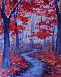 Paint Nite Baltimore | 11/5 - Arlington Echo Outdoor Education Center - Department Chairs