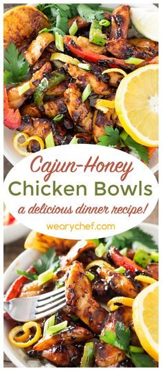 Grab a fork, and get ready to dig into this luscious Cajun Honey Chicken! It's loaded with flavor and ready in only a half hour. Just right for busy nights! ***Will need to sub out brown sugar and watch honey amounts to keep this on plan! Cajun Recipes, Cooking Recipes, Healthy Recipes, Louisiana Recipes, Potato Recipes, Pasta Recipes, Light Chicken Recipes, Crockpot Recipes, Soup Recipes