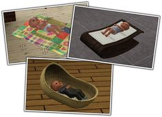 Around the Sims 3 | Downloads | Objects | Kids | Baby Comfort