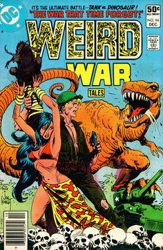 Weird War Tales - The War That Time Forgot by Joe Kubert