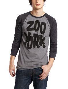 Zoo York Men's Painterrific Raglan Henley Shirt ZOO YORK