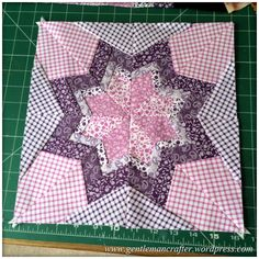 Fabric Friday - Further Adventures In Foundation Paper Piecing - 5