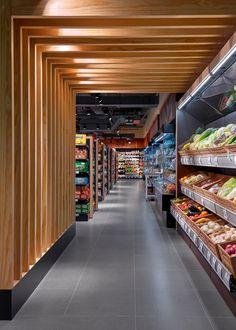 Beauty Clinic, Lifestyle, Retail, Retail Store/Shop Designs: 1004 Gourmet, Dubai - Love That DesignLove That Design Retail Store Design, Retail Shop, Food Retail, Retail Displays, Shop Displays, Window Displays, Convience Store, Shop Interior Design, House Design
